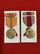 Wwii Asiatic Pacific Campaign Medal And Efficiency Honor Fidelity Medal