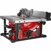 Milwaukee M18 Fuel Cordless 8 1/4in. Table Saw Kit With One-key Andmdash 1 Battery