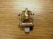 1977 For Lionel 6 Parts Gold Metal Bell 601-610-611 Switcher 51-52-53-56-58