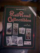 Railroad Collectibles 4th Ed Baker Antiques 1990s