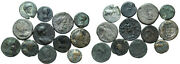 Forvm Lot Of 12 Holy Land City Coins Roman Judea And Palestina 54-253 Ad