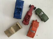 5 Antique Toy Cars