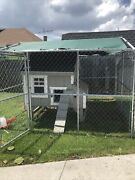 Large Chicken Coop - Great Condition- Comes With Fencing - 10-14 Chickens