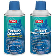 Crc Marine Battery Terminal Cleaner And Protector Bundle 1003890/1003896