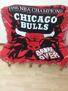 Collectors Nba 1996 Chicago Bulls Champions Throw Blanket The Northwest Company