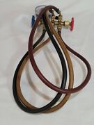 Robinair Imperial Cat. 425-cb Gauge With Charging Hoses R-22/r-12/r-502