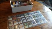 Magic The Gathering Collection Lot - Stored In Bcw Shoe Box - 1841 Cards