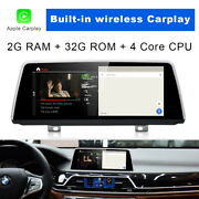 Android Car Gps Navigation Video Player Carplay For Bmw 7 Series G11 Evo System