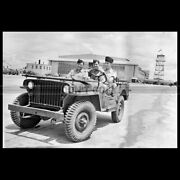 Photo A.017082 Jeep Willys Mb Slat Grill Royal Military Flying School Jackson