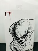 Neca Sdcc 2019 It Engraved Etched Pennywise The Clown 7 Action Figure Exclusive