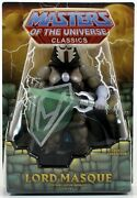 Damaged Package Masters Of The Universe Classics Lord Masque Figure Motu