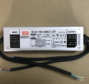 1pc Mean Well Waterproof Power Supply Elg-150-48b-3y 48v 3.13a New In Box