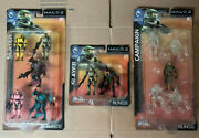 Joyride Lot 3 Halo Mini Series 2 Slayer Campaign Pack Limited Exclusive Figures