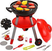 24 Pcs Little Chef Barbecue Bbq Cooking Kitchen Toy Interactive Grill Play