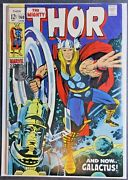 Mighty Thor 160 Marvel 1969 Thor Galactus Iconic Jack Kirby Silver Age