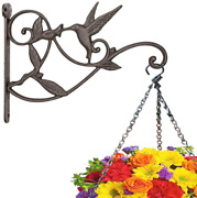 Plant Hanger Brackets Wall Mounted Cast Iron Metal Wrought Plants Hangers New