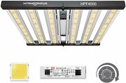 Hyphotonflux Hpf4000 Led Grow Lights With 1224pcs Samsung Lm301b Silver