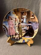 """Little House On The Prairie Medicine Show"""" Collectible Plate E Christopherson"""