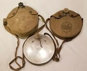 Bundle Of Three Canteens - One Vintage Boy Scouts Of America And Two Vintage Palco