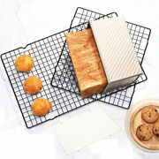 Stainless Steel Wire Grid Cooling Cake Tray Food Rack Oven Rack Baking Hold Mo