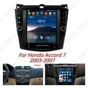 9.7 Inch Android 10.1 Car Stereo Gps Wifi Dab Obd Rds For 03-07 Honda Acccord 7
