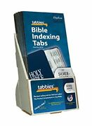 Tabbies 20 Pack With Display Silver-edged Bible Indexing Tabs Old And New Testa...