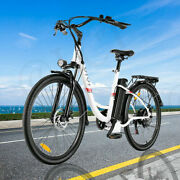 26and039and039 Electric Bike Mountain Bicycle City Choice Ebike With Removeable Battery