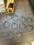 Lot Of 15 Nos Mechanix 2 Wire 2 1/4 Radiator Hose Clamps 621