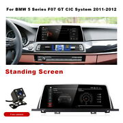 Android Car Gps Navigation Head Unit Carplay For Bmw 5 Series F07 Gt 2011+ Cic