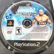 Wwe Smackdown Here Comes The Pain Ps2 Playstation 2 Disc Only