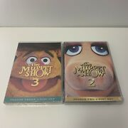 The Muppet Show Season 2 And 3 Dvd Boxset Sealed But Ripped Read