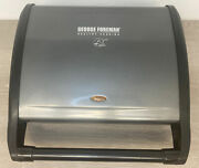 George Foreman Grv120gm - 8-serving Classic Plate Grill With Drip Tray