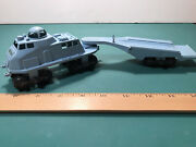 Vintage Marx Operation Moon Base Toy Play Set Tractor And Trailer