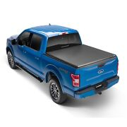 Lund 969369 Black Hard Fold Vinyl Truck Bed Tonneau Cover For Ford F-150 78 Bed