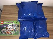 Lego Minecraft The Mountain Cave 2017 21137 100 Complete With Manual