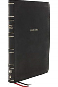 Thomas Nelson-nkjv Thinline Bible Lp Leather Hbook New