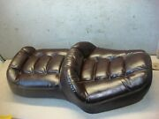 Honda Gl 1200 Gold Wing 1985 Seat Double Leather Classic Brown Oem 77200-mg9
