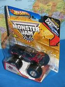 Hot Wheels Monster Jam Northern Nightmare Truck Crushable Car Max-d Brand New