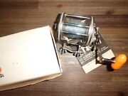 Vintage Kencor Drum 840m Stainless Steel Conventional Reel- Usa W/ Box And Papers
