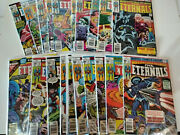 Eternals 1-19 And Annual 1 High Grade Key Comic Books