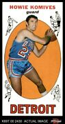 1969 Topps 71 Howie Komives Pistons Bowling Green 7 - Nm