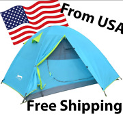 Desertandfox Backpacking Camping Tent Lightweight 1-3 Person Double Layer Us Stock