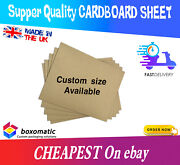 A5 A4 A3 A2 A1 Single Wall Corrugated Cardboard Sheets Divider Art Craft Pads