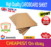 Corrugated Cardboard Sheets White - A4 A3 Double Wall5mm - Art Craft Board