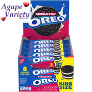 Oreo Double Stuf Chocolate Sandwich Cookies Original 4.1 Ounce Pack Of 10