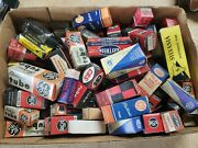 Large Lot - Vacuum Tube Tv Radio Vintage Made In The Usa Mixed Brands And Sizes