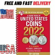 New 2022 Official Red Book Price Guide United States Us Coin 75th Edition Usa