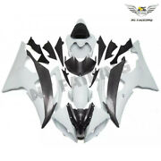 Ft White Grey Injection Molded Fairing Kit Fit For 2008-2015 Yamaha Yzf R6 R01s