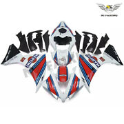 Ft White Abs Plastic Injection Fairing Kit Fit For 2012-2014 Yamaha Yzf R1 R004