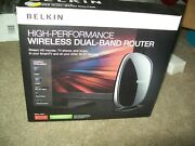 Belkin High Performance Wireless Dual Band Router N750 New In Box